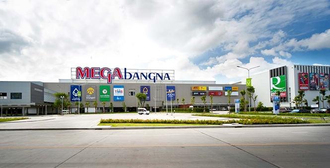 IKEA nằm trong trung tâm thương mại Mega Bangna Bangkok