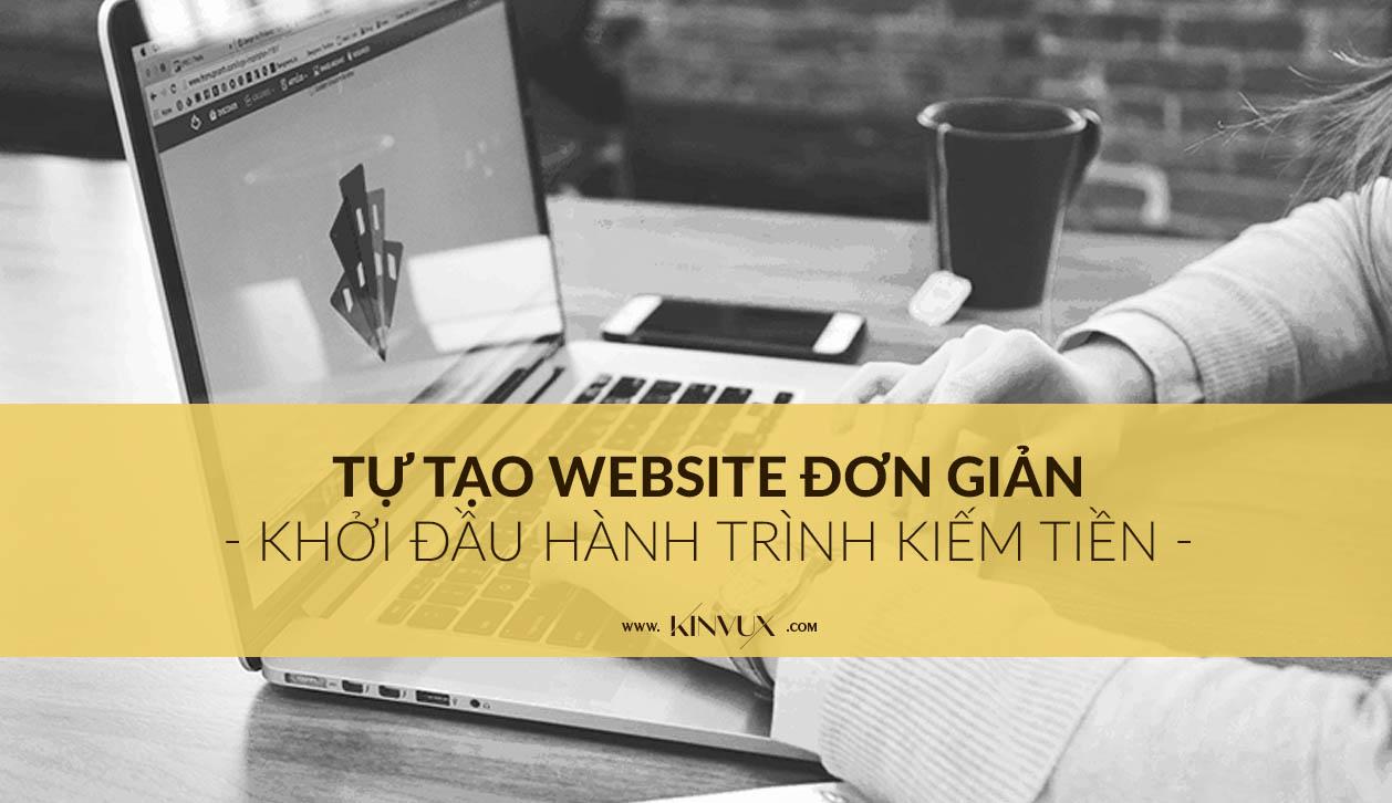 Tự tạo website đơn giản