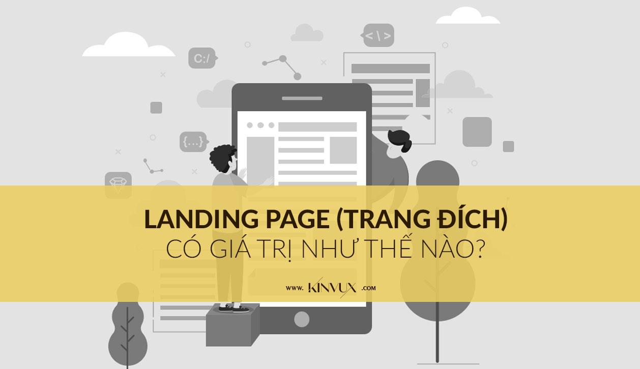 Trang đích Landing Page có cần thiết hay không