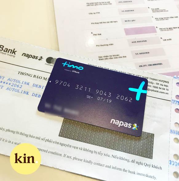 Mở thẻ hoặc cấp lại thẻ mới cũng chỉ trong vòng 10 phút