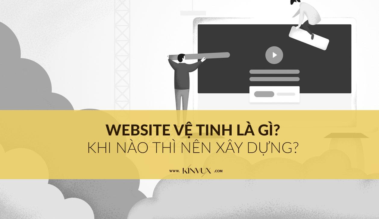 Xây dựng website vệ tinh