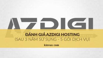 Đánh giá azdigi hosting sau 3 năm sử dụng