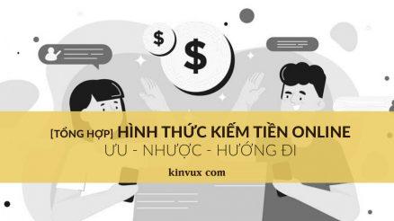 Hình thức kiếm tiền Online và hướng đi bắt đầu