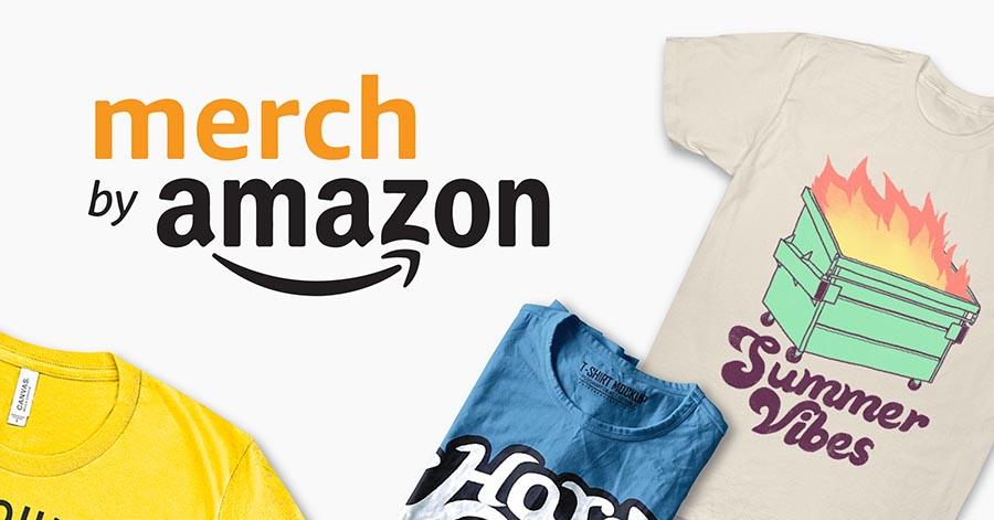 kiem tien tren mang voi Merch by Amazon