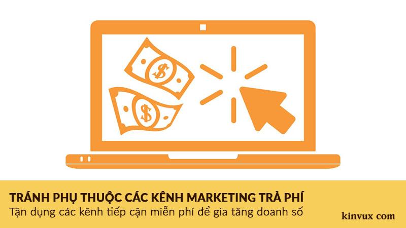 Sai lầm kinh doanh Online ít vốn khi phụ thuộc quảng cáo