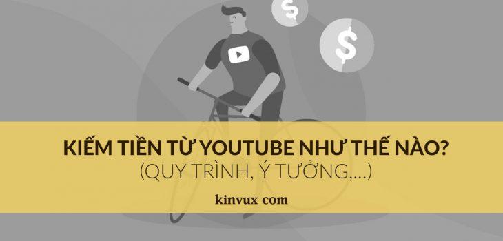 Kiếm tiền từ Youtube như thế nào