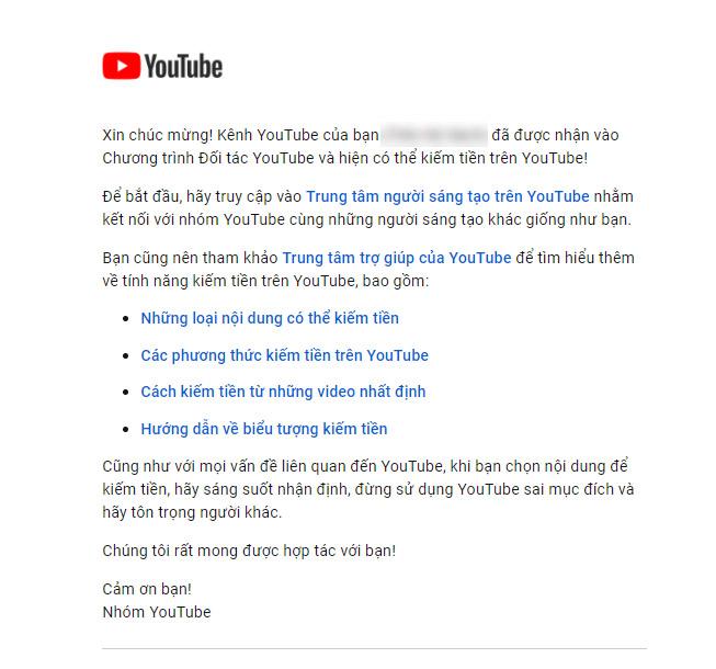 phe duyet kiem tien youtube