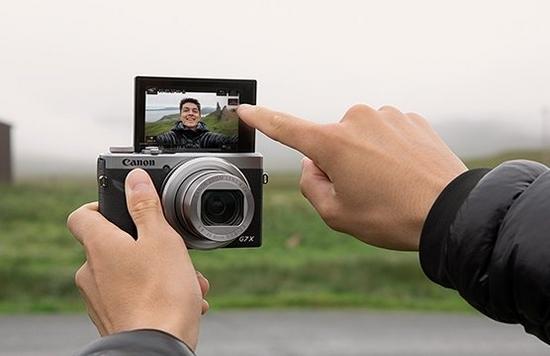 may quay video youtube Canon PowerShot G7X