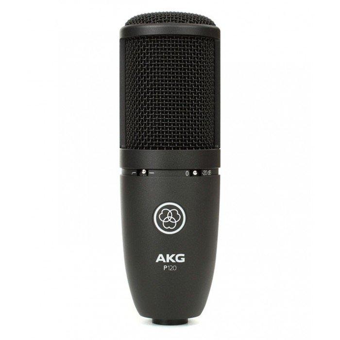micro thu am cho nguoi lam youtube AKG P120